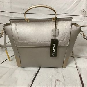 NWT Cromia Leather Unica BagNWT, used for sale